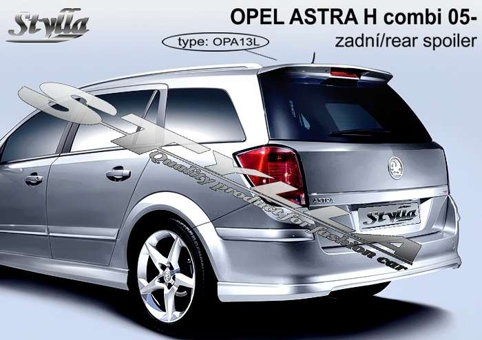 car spoilers for opel astra h combi 2005r stylla. Black Bedroom Furniture Sets. Home Design Ideas