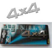 Znak 4x4 3D samolepící 15x3,5 cm