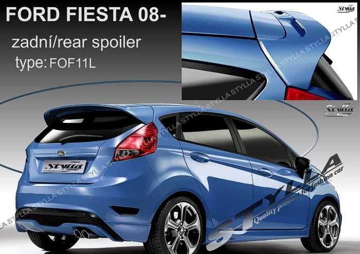 Spoiler, křídlo na zadní dveře horní na míru pro FORD Fiesta 2008r =>