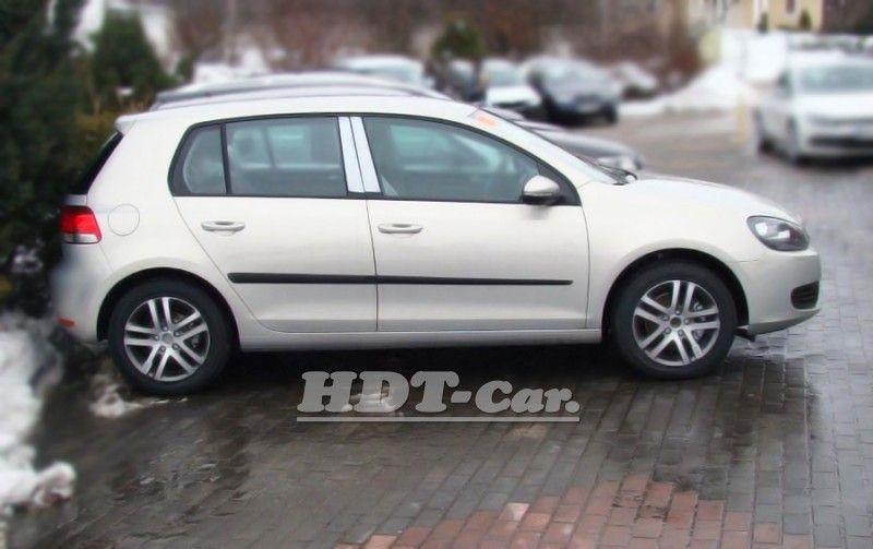 Ochranné lišty bočních dveří VW Golf VI, od roku 2008r =>