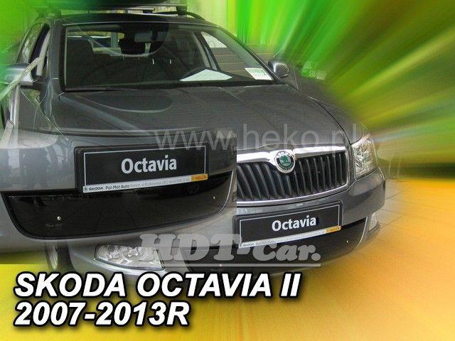 Zimní clona masky chladiče ŠKODA Octavia II 2007-2013r, dolní clona