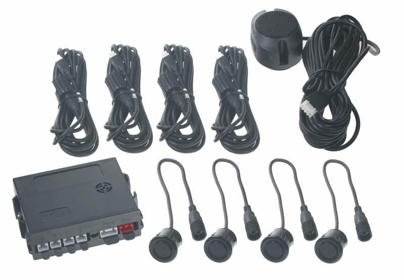 Parkovací systém 4 senzorový - akustický signál Vyrobeno v EU