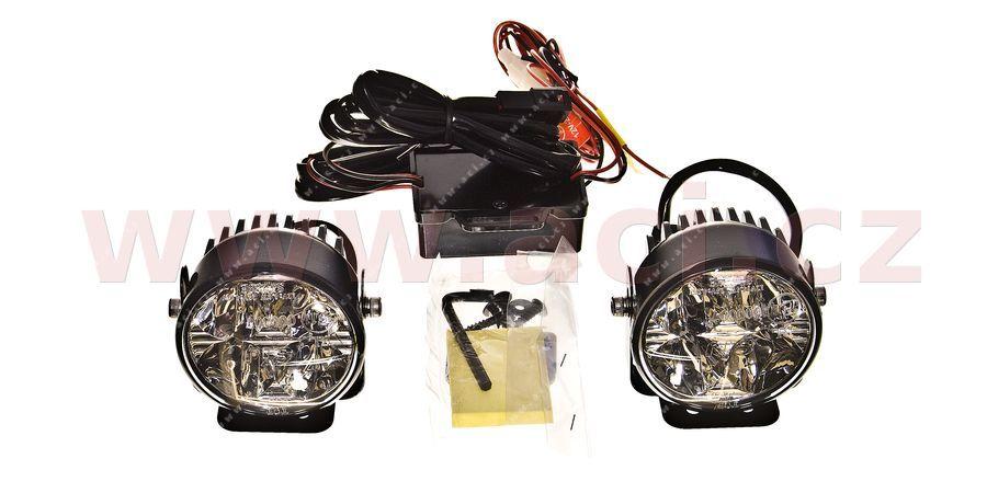 Přídavná světla LED denní svícení - 12/24V - 70 mm