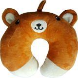 Zobrazit detail - Dětský polštář do auta medvídek hnědý