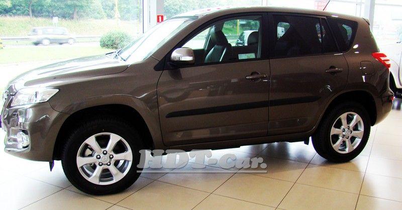 Ochranné lišty bočních dveří Toyota RAV4 od roku 2011r =>