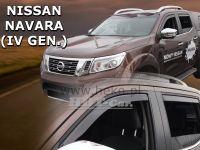 Ofuky oken Nissan Navara Pick up 4D 2014r =>, přední+zadní 4ks