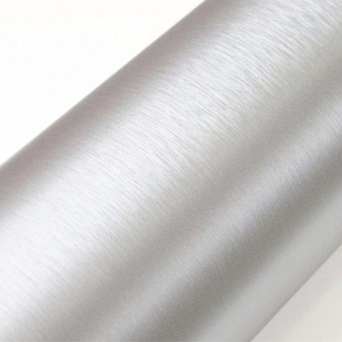 Samolepící folie brush chrom 50X60 cm