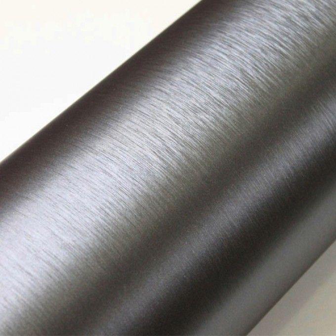 Samolepící folie brush stříbrná tmavá 50X60 cm