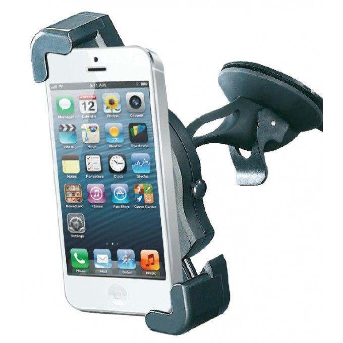 Univerzální držák na navigaci, mobil, gps, s přísavkou a rámečkem na foto, pevným krkem
