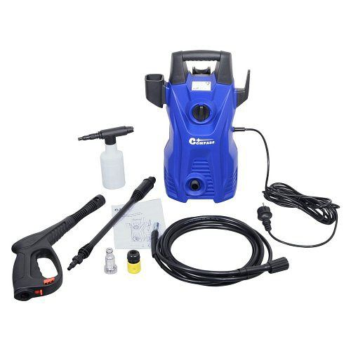 Vysokotlaký čistič 1400W 105bar 230V pro čištění aut, kol, teras, bazénů či jiných ploch