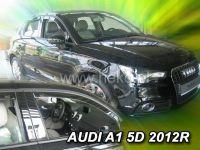 Plexi, ofuky AUDI A1 5D 2012 =>, přední HDT