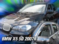 Plexi, ofuky BMW X5 5Dv. od 2007r => přední sada 2ks HDT
