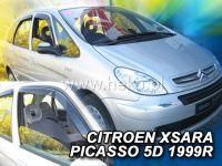 Plexi, ofuky Citroen Xsara Picasso 5D 1999r =>, sada 2ks přední HDT