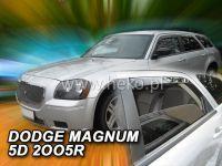 Ofuky oken Dodge Magnum 5D 2005-2008r, přední + zadní