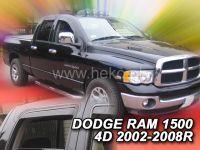 Ofuky oken Dodge Ram 1500 2002-2008r, přední+zadní