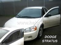 Plexi, ofuky Dodge Stratus 4D 2001 => přední HDT