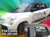 Ofuky oken Fiat 500L 2012r =>, 4ks přední+zadní