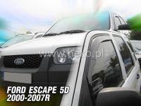 Plexi, ofuky Ford Escape 4D 2000-2007 přední HDT