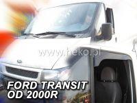 Ofuky na okna Ford Transit 2D 2000-2013r zkrácené ofuky OPK