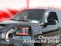 Plexi, ofuky Chevrolet Avalanche 4D 2002-2006 přední HDT