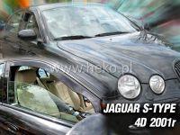 Plexi, ofuky JAGUAR S-Type 4D, 2001 =>, přední HDT