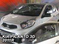 Ofuky oken Kia Picanto II 3D 2011r =>, 2ks přední