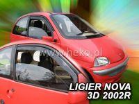 Ofuky oken Ligier Nova 3D 99-2004r, 2ks přední