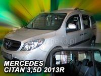 Ofuky oken Mercedes Citan W415 3/5D 2012r =>, 4ks přední+zadní