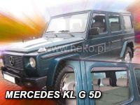 Ofuky oken Mercedes G 5D přední+zadní
