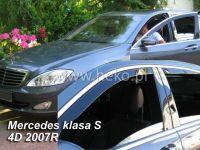 Ofuky oken Mercedes S W221 4D 2005R =>, 4ks přední+zadní