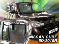 Ofuky oken Nissan Cube 5D 2010r =>, 4ks přední+zadní