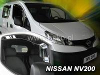 Plexi, ofuky bočních skel NISSAN NV 200 2D 2010 => HDT