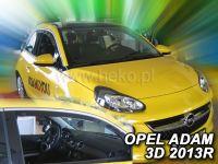 Ofuky oken Opel Adam 3D 2013r =>, 2ks přední