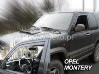 Ofuky oken Opel Monterey 3/5D 92-2000Rr, 2ks přední