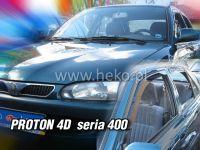 Plexi, ofuky PROTON 4D, ser 400, přední + zadní HDT