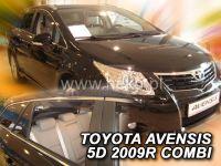 Plexi, ofuky bočních skel TOYOTA Avensis combi 5D 2009 =>, přední + zadní HDT