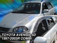 Plexi, ofuky Toyota Avensis 5D 97-2003, combi, přední + zadní HDT