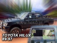 Ofuky oken Toyota Hilux 4D N13 1989-1997 R/4 Runner přední+zadní