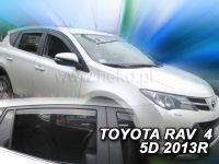 Ofuky oken Toyota Rav 4 5D 2012r =>, 4ks přední+zadní