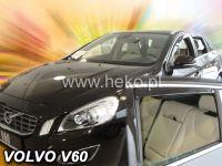 Plexi, ofuky Volvo V60 5D 2010, přední + zadní HDT