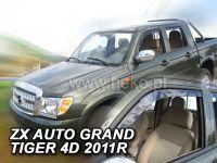 Plexi, ofuky ZX Auto Grandtiger 4dv, 2011r =>