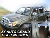 Ofuky oken ZX Auto Grandtiger 4dv, 2011r =>, přední+zadní