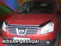 Lišta přední kapoty přesná Nissan Qashqai 2007-2010r 5D
