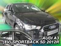 Ofuky oken Audi A3 V8 Sportback 5dv od roku 2012r, přední+zadní