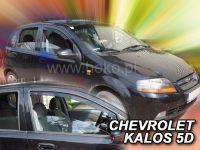 Ofuky oken Chevrolet Kalos 5D 04-2008r, 2ks přední