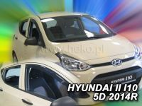 Ofuky oken Hyundai i10 II 5D 2014r => 4 ks přední+zadní