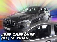 Ofuky oken Jeep Cherokee 5D 2014r =>, 2ks přední