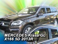 Ofuky oken Mercedes GL X166 5D 2013R =>, 4ks přední+zadní