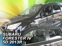Ofuky oken Subaru Forester IV 2013r =>, 4ks přesní+zadní