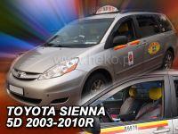 Ofuky oken Toyota Sienna 5D 03-2010r, 2ks přední